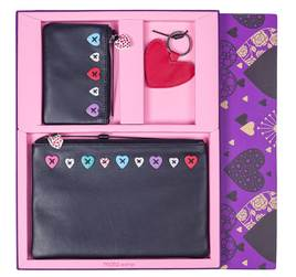 Lucy Leather 3 Piece Gift Set