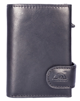 Tony Perotti Wallet with Metal Sleeve and Coin Pocket - RFID