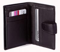 Origin Credit Card Holder With Tab & RFID Protection