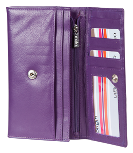 Origin Slim Flap Over Purse with RFID
