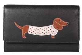 Best Friends Sausage Dog Flap Over Purse