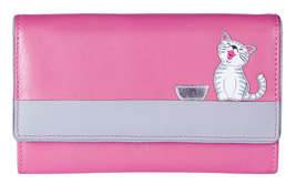 Ziggy Cat Flap Over Purse