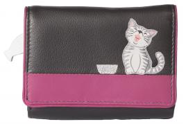 Ziggy Cat Tri Fold Purse