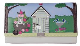 Beau's Garden Shed leather Dog Matinee Purse