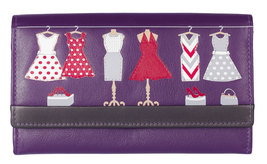 Dotty Flap Over Purse - RFID