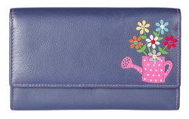 Blossom Flap Over Purse - RFID