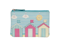 Pinky Beach Huts Coin Purse
