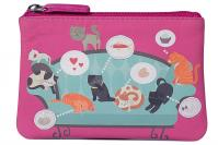 Pinky Cats on the Sofa Coin Purse