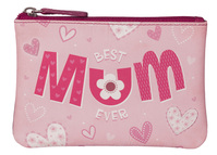 Pinky Best Mum Coin Purse