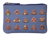 Pinky Poo Emoji Coin Purse