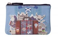 4115 11 Pinky Scotland Coin Purse