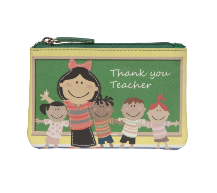Pinky Teacher Coin Purse