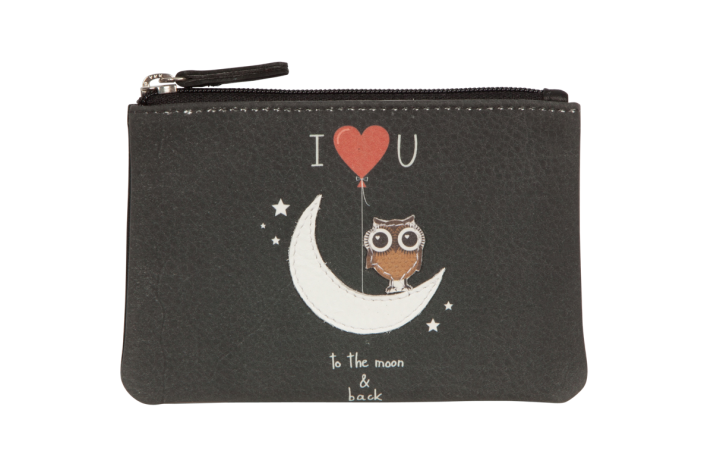 Pinky To the Moon & Back Coin Purse