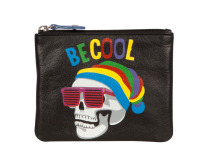 Pinky Be Cool Skull Coin Purse