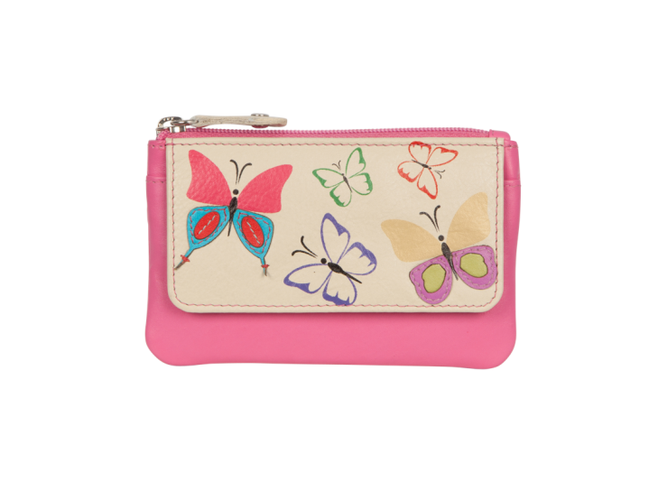 4121 83 Mimosa Coin Purse with RFID Protection