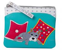 4131 89 Beau No Dogs on The Sofa Coin Purse with RFID