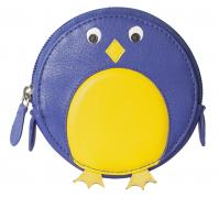 Pinky Bluebird Round Coin Purse