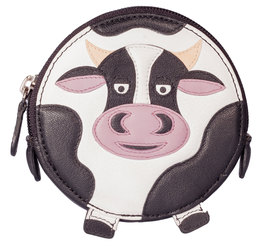 Pinky Cow Round Coin Purse