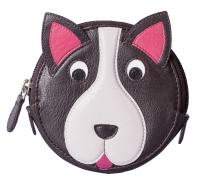 Pinky Dog Round Coin Purse