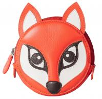 Pinky Fox Round Coin Purse