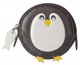 Pinky Penguin Round Coin Purse