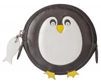 4155 11 Pinky Penguin Round Coin Purse