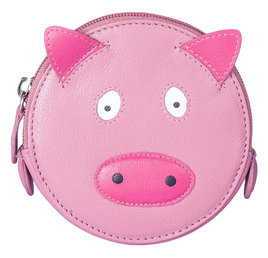 Pinky Pig Round Coin Purse