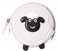 Pinky Sheep Round Coin Purse