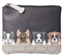 BF Dogs on Wall Coin Purse