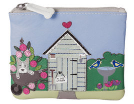 Beau's Garden Shed Coin Purse - RFID