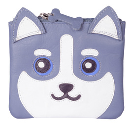 Hugo the Huskey Coin Purse