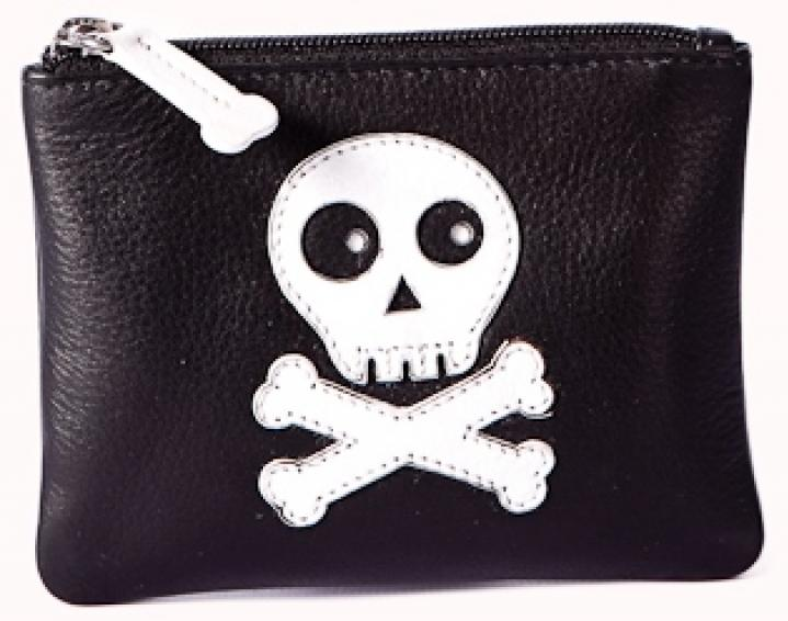 Pinky Skull Coin Purse