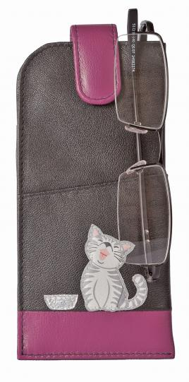 Ziggy Cat Glasses Case