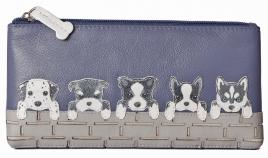 BF Dogs on Wall Flap Glass/Pencil Case