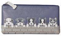 5119 65 BF Dogs on Wall Flap Glass/Pencil Case
