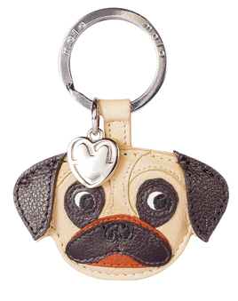 Otis the Pug Keyring
