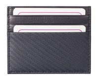 Kalmin Carbon Fibre Effect Card Wallet RFID