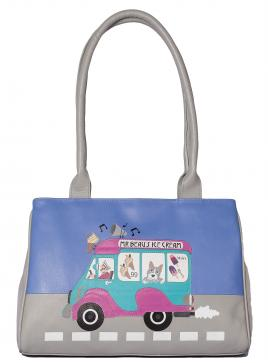 Beau's Ice Cream Van Shoulder Bag