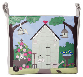 Beau's Garden Shed Cross Body Bag