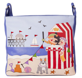 Beau's Punch and Judy Show Cross Body Bag