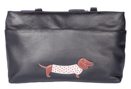 Best Friends Sausage Dog Shoulder Bag