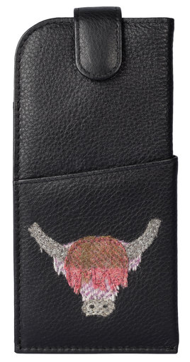 Angus the Cow Glasses Case