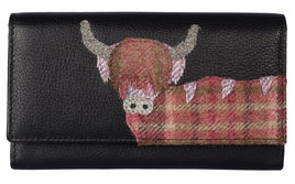 Angus the Cow Matinee Purse - RFID