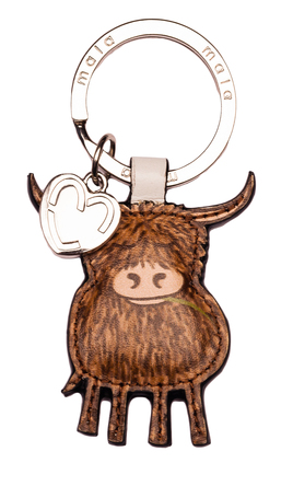 Bella Highland Cow Keyring