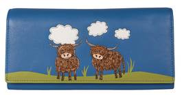 Bella Highland Cow Matinee Purse - RFID