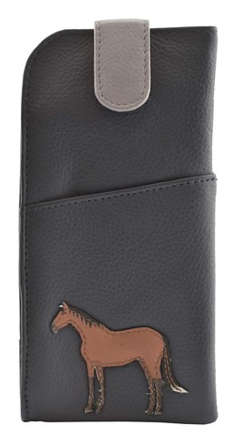 Best Friends Horses Glasses Case