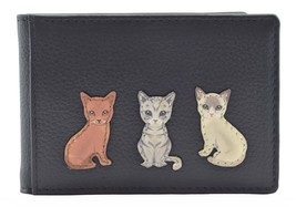 Best Friends Sitting Cats ID / Travel Card Holder - RFID