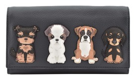 Best Friends Sitting Dogs Matinee Purse - RFID