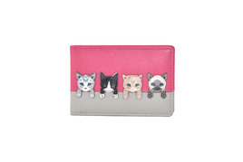 BF Cats on Wall ID/Card Holder