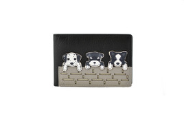 BF Dogs on Wall ID/Card Holder
